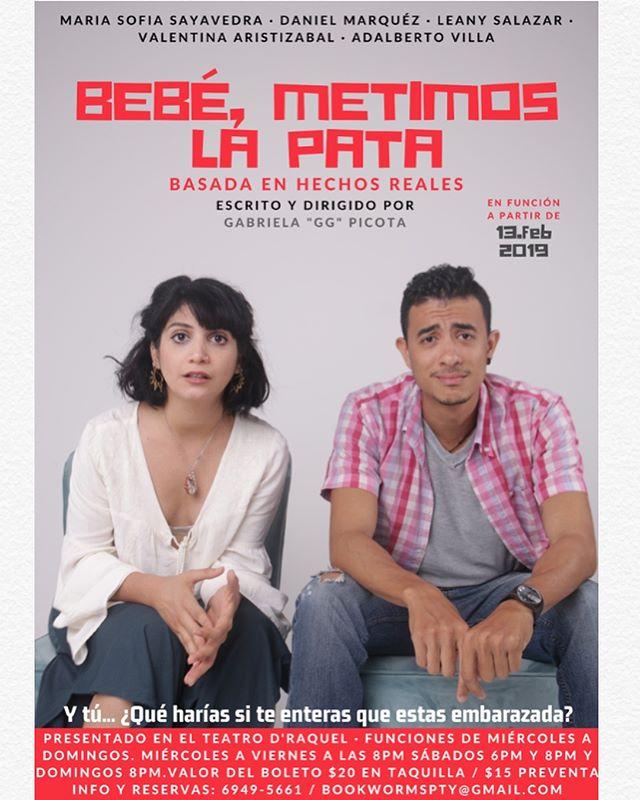 Photo of Obra 'Bebé, metimos la pata'
