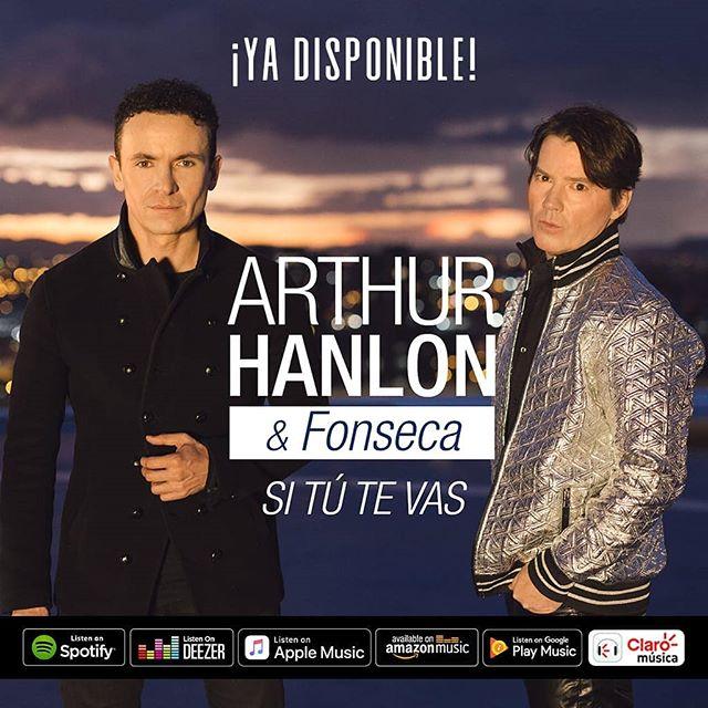 Photo of Fonseca y Arthur Hanlon presentan 'Si tú te vas'