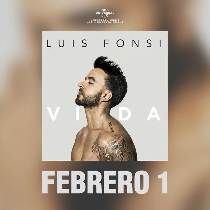 Photo of El nuevo disco de Luis Fonsi se llama 'Vida'