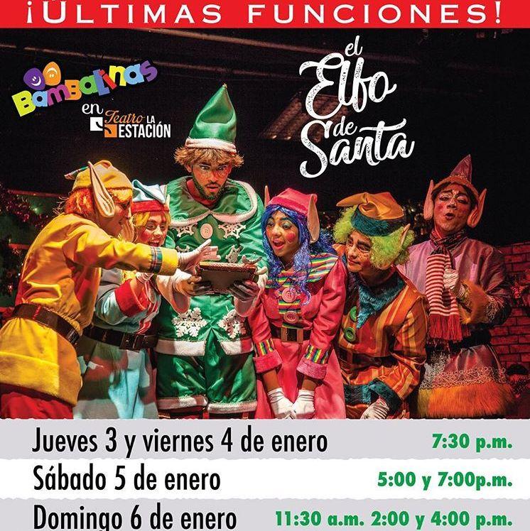 Photo of Últimas funciones de 'El Elfo de Santa'