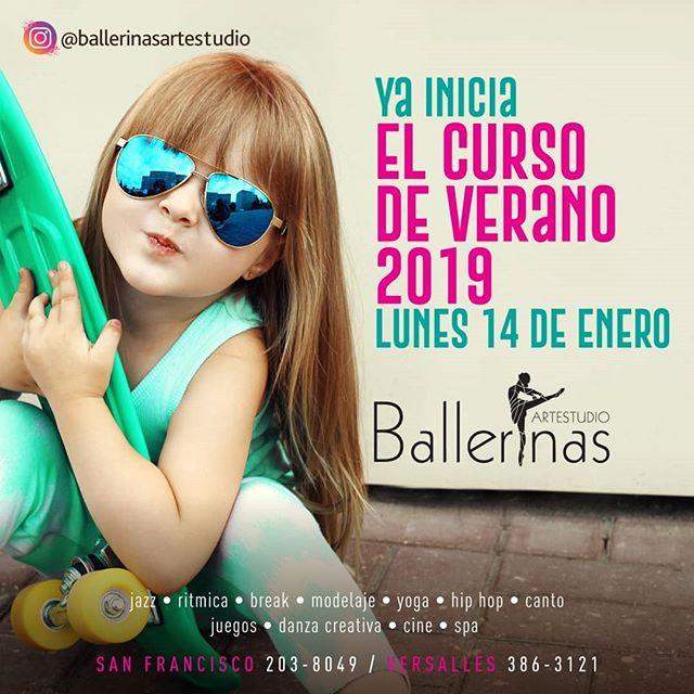 Photo of Ballerinas arte y estudios presentan 'Curso de verano'