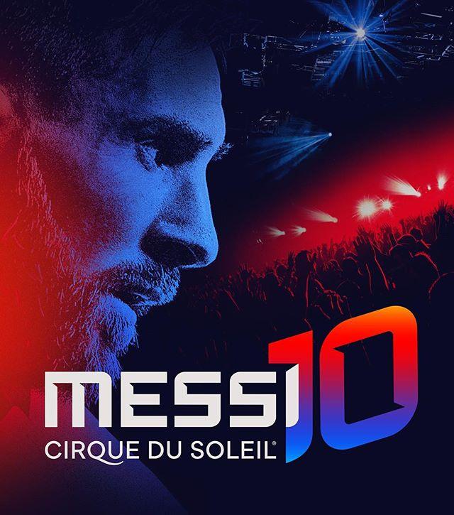 Photo of Messi10 by Cirque du Soleil