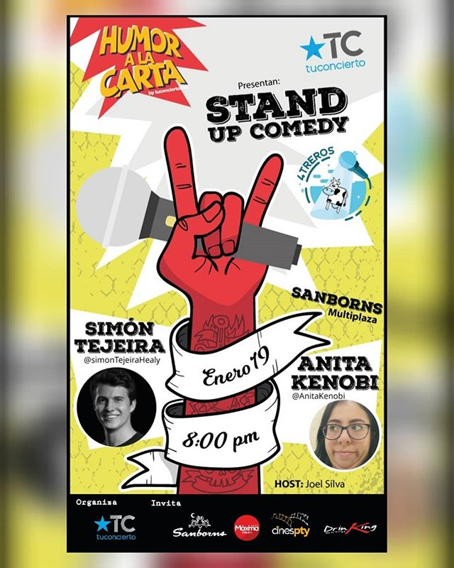 Photo of Humor a la Carta by @tuconcierto presenta 'Stand Up Comedy'