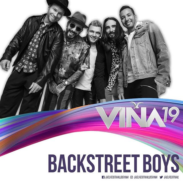 Photo of Backstreet Boys estará en Viña del Mar 2019