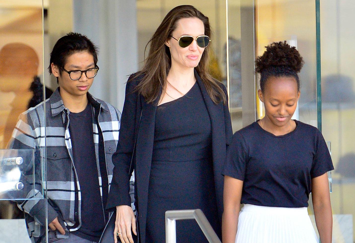 Photo of Gran cambio de la hija de Angelina Jolie