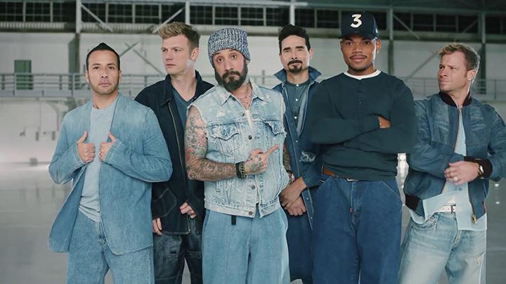 Photo of Backstreet Boys en un comercial de Doritos