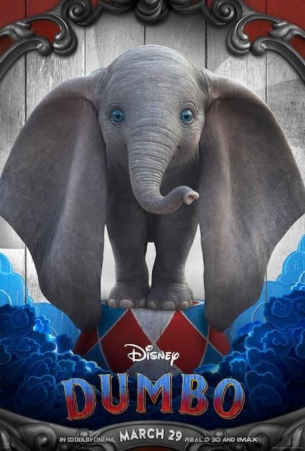 Photo of Presentaron los posters oficiales de la nueva versión de Dumbo