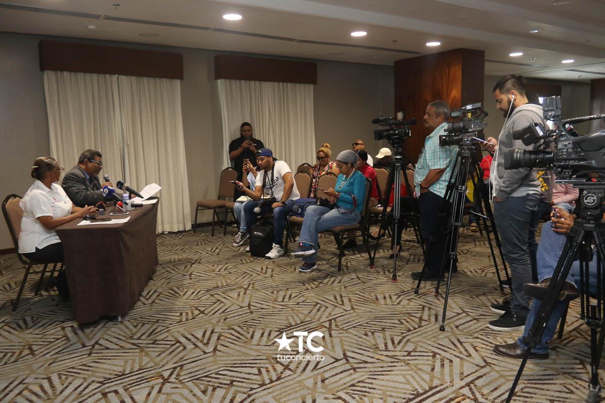 Photo of Conferencia de Prensa Cecilia Arosemena