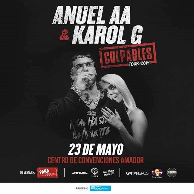 Photo of Pre venta para concierto de Anuell AA y Karol G en Panamá
