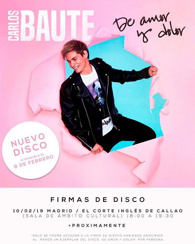 """Photo of Carlos Baute lanza su nuevo disco '""""De amor y dolor"""""""