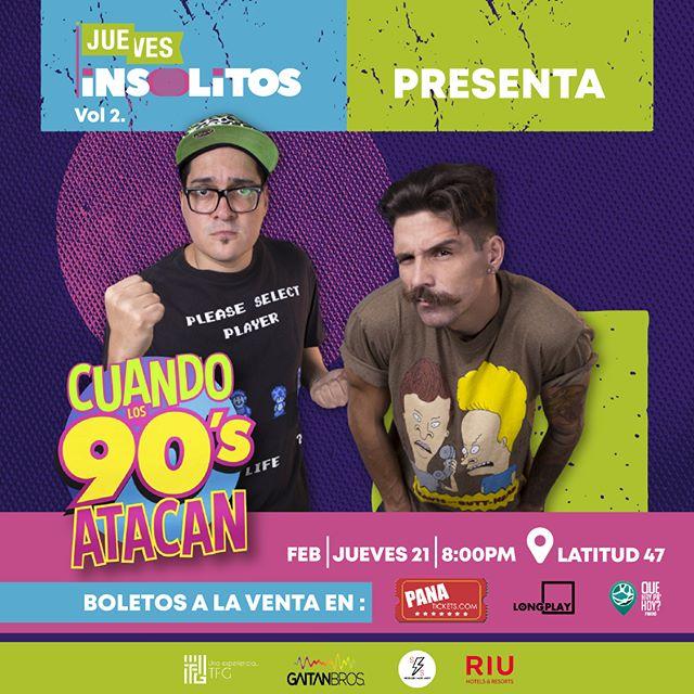 Photo of Cuando los 90 atacan llega a Panamá con René Velazco DJ Marco77