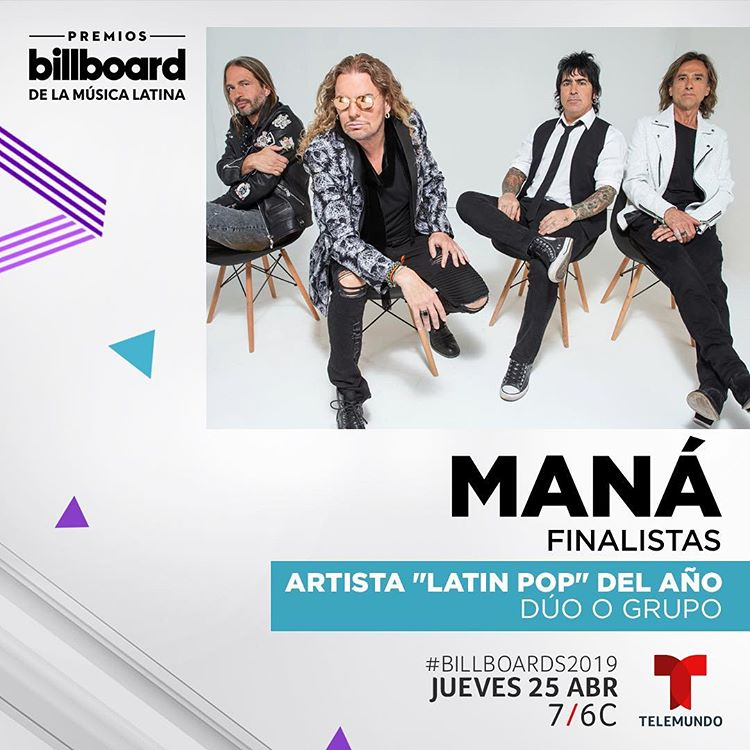 Photo of Maná nominados a los Premios Billboard de la Música Latina