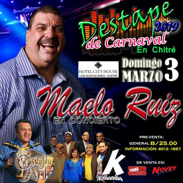 Photo of Maelo Ruiz en concierto en Panamá