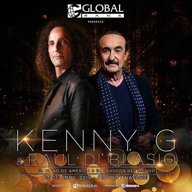 Photo of Concierto de Kenny G y Raúl Di Blasio en Panamá
