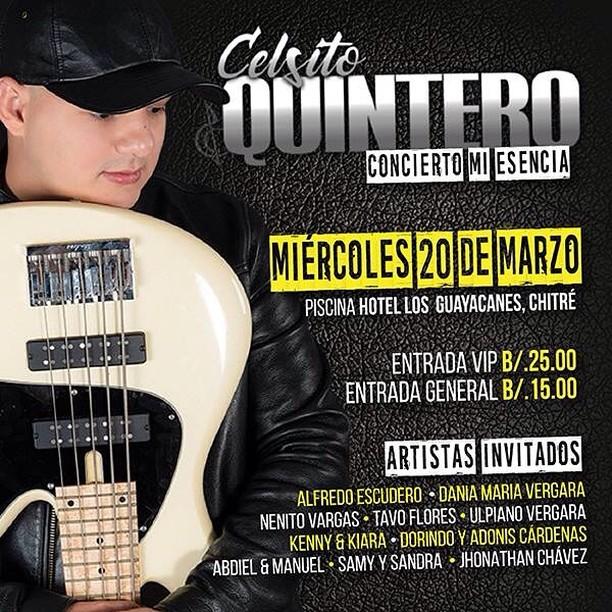 Photo of Concierto «Mi Esencia» con Celsito Quintero