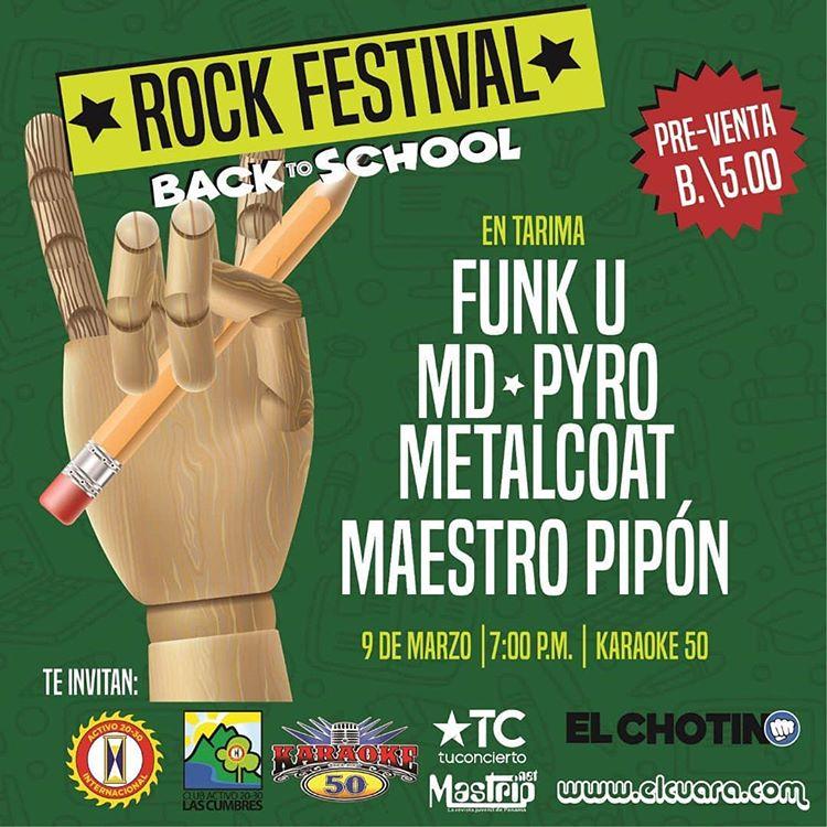 Photo of Rock Festival Back to School