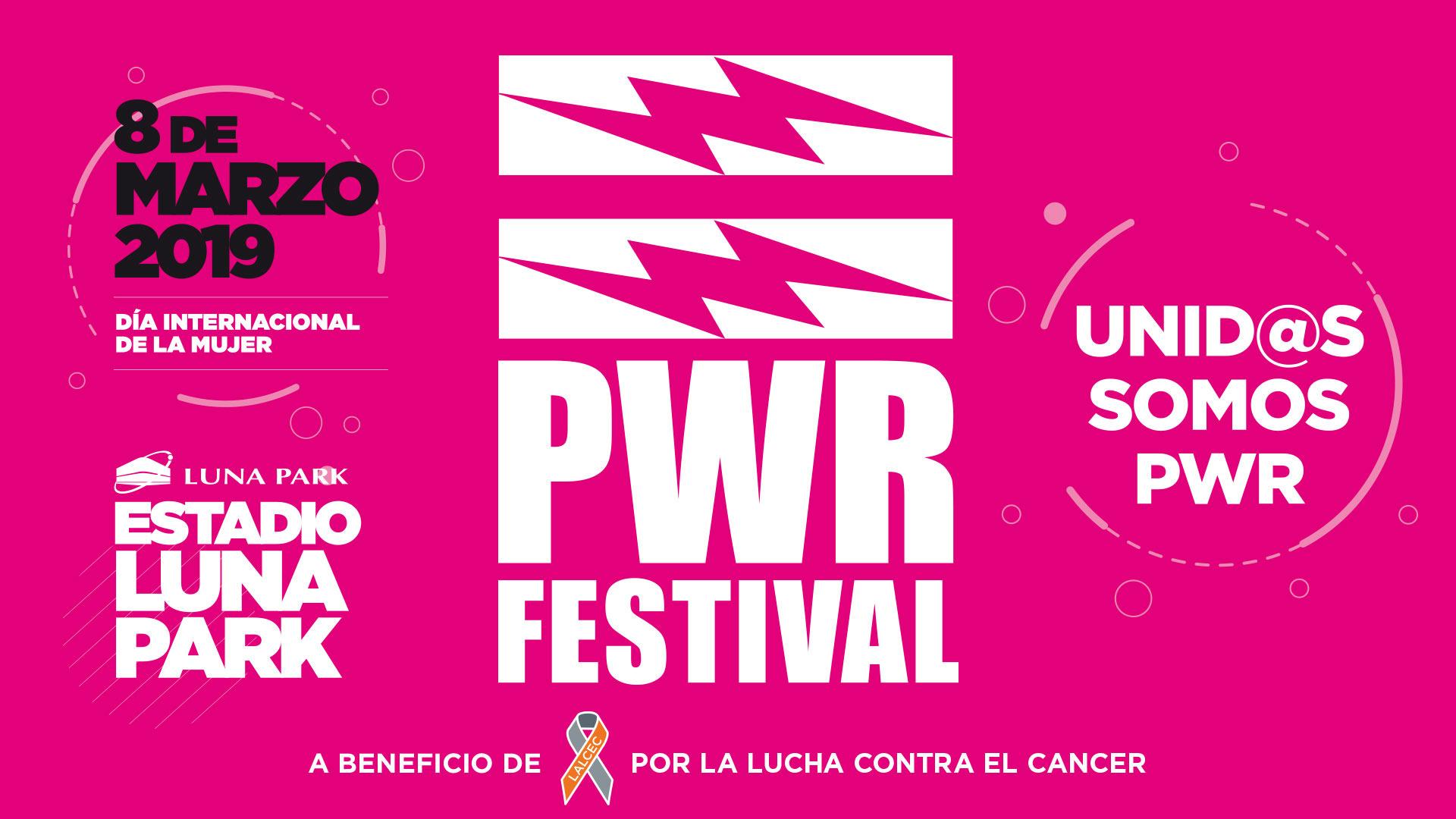 Photo of El PWR Festival es este 08 de marzo en Argentina