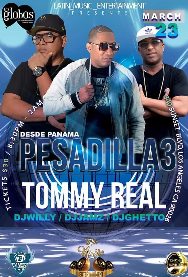 Photo of Concierto de Pesadilla 3, Almirante, Tommy Real en Los Ángeles