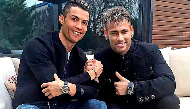 Photo of HBD para CR7 y Neymar