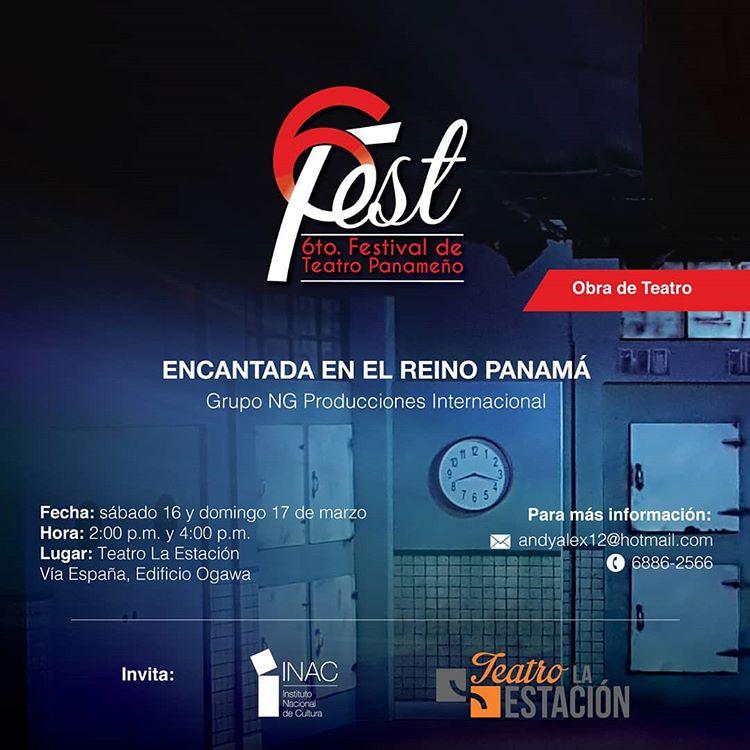 Photo of «Encantada en el Reino Panamá» en el 6to. Fest 2019