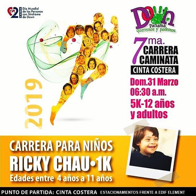 Photo of Carrera Caminata Down Panamá 2019