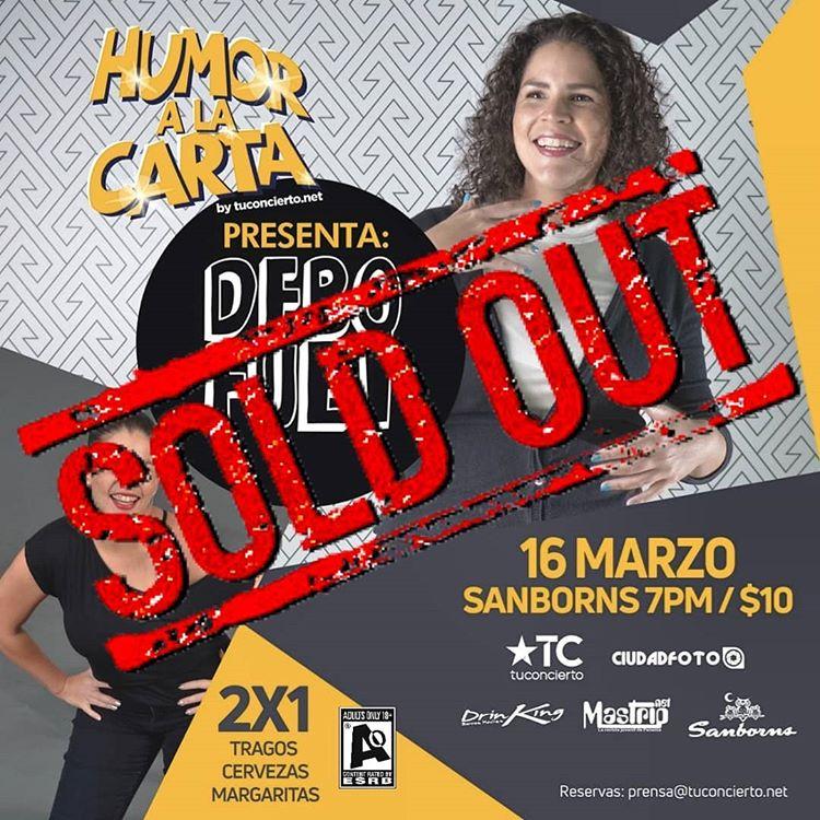 Photo of Sold Out para nuestro Humor a la Carta by tuconcierto.net