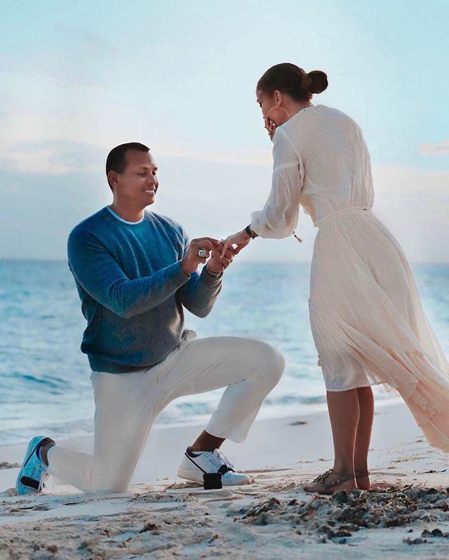 Photo of JLo y Alex Rodríguez se comprometieron