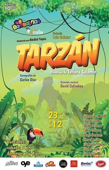 Photo of Teatro Bambalinas presenta la obra Infantil «Tarzán»