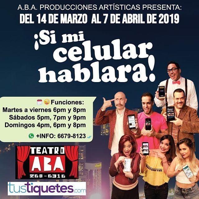 Photo of Gran estreno de la obra » «Si mi celular hablara»