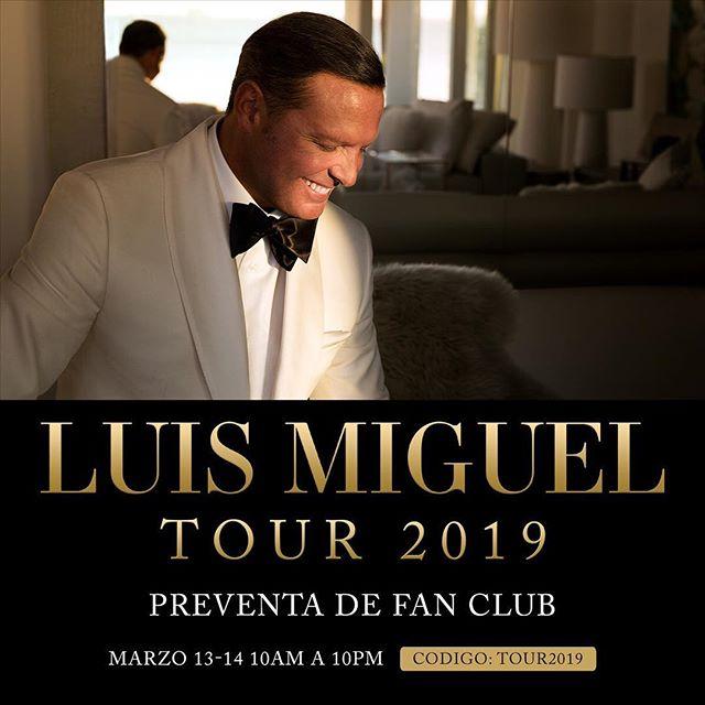 Photo of Luis Miguel anuncia gira por Estados Unidos
