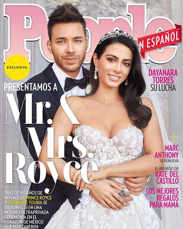 Photo of Prince Royce y Emeraude Toubia se casaron