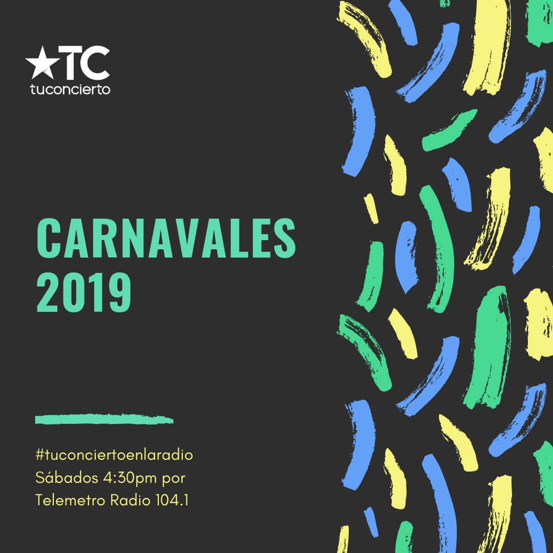 Photo of Tuconcierto.net presenta el  #top5 de la semana de carnaval