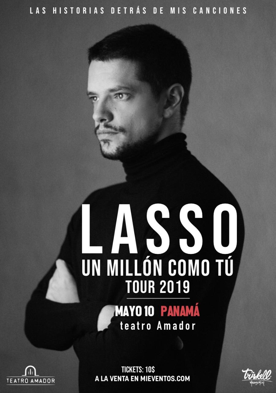 Photo of Lasso llega a Panamá con su Tour «Un Millón Como Tú»