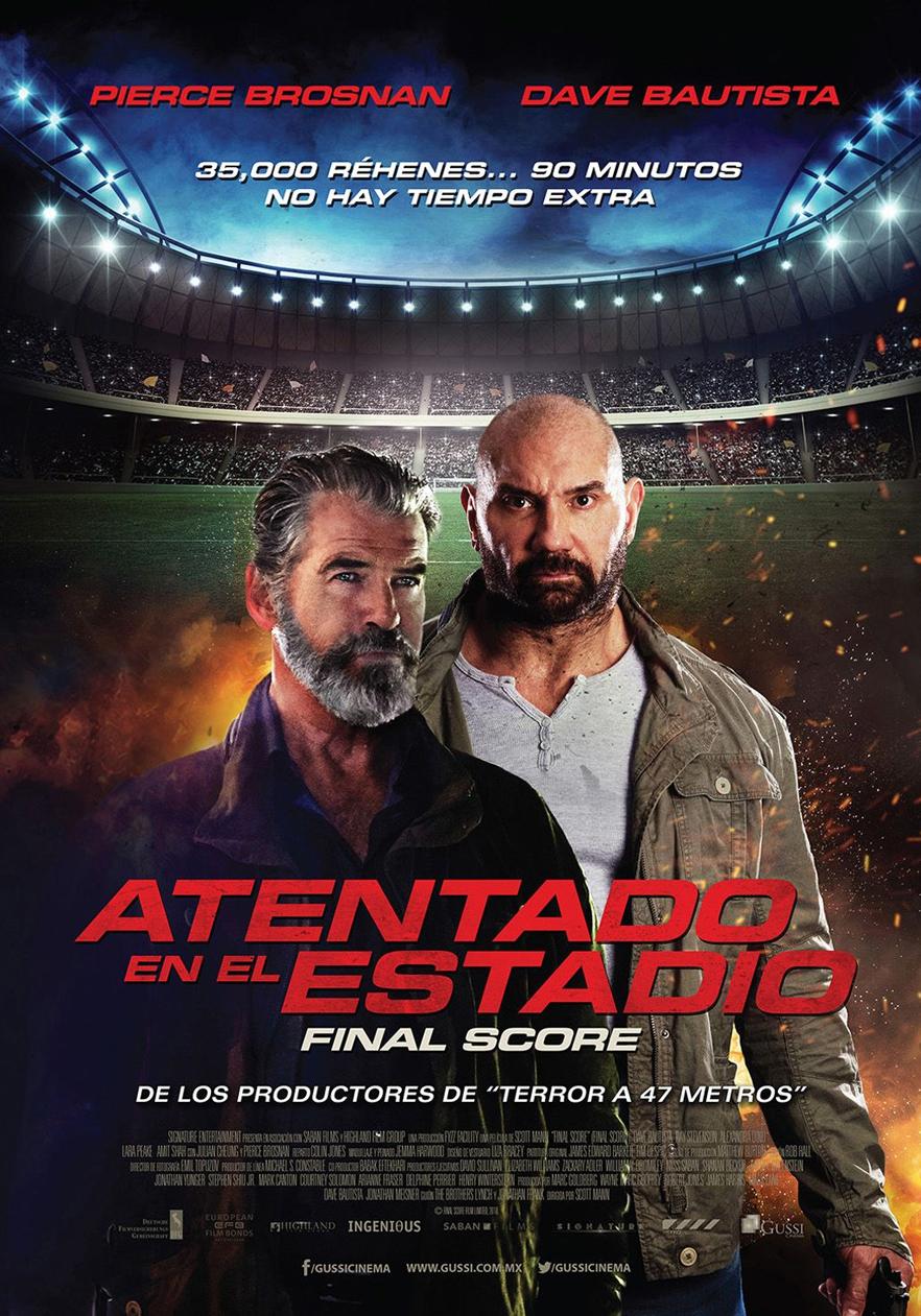 Photo of El film «Atentado en el estadio» disponible en las salas de cines