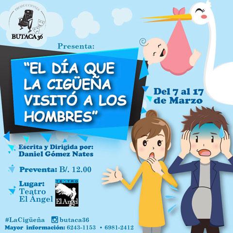 """Photo of Estreno de la obra """"El Día que la Cigüeña visitó a los hombres"""""""