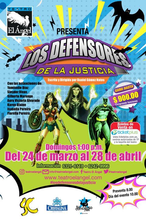 Photo of Obra de teatro 'Los Defensores de la Justicia'