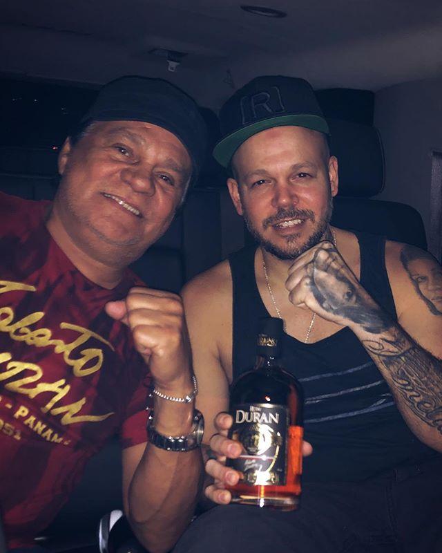 Photo of Residente comparte una fotografía junto a Roberto Durán