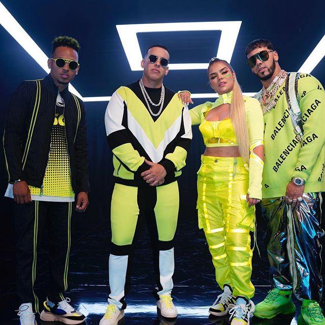 Photo of Ozuna, Daddy Yankee, Anuell AA y Karol G listos para los Billboard