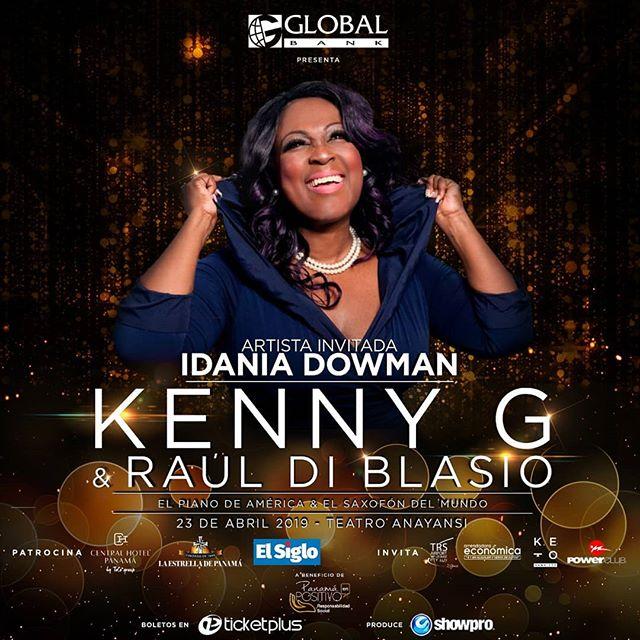Photo of Idania Dowman es la invitada al concierto de Raúl Di Blasio y Kenny G en Panamá