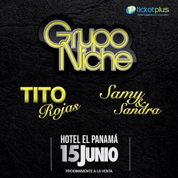 Photo of Concierto de Grupo Niche, Tito Rojas y Samy y Sandra en Panamá