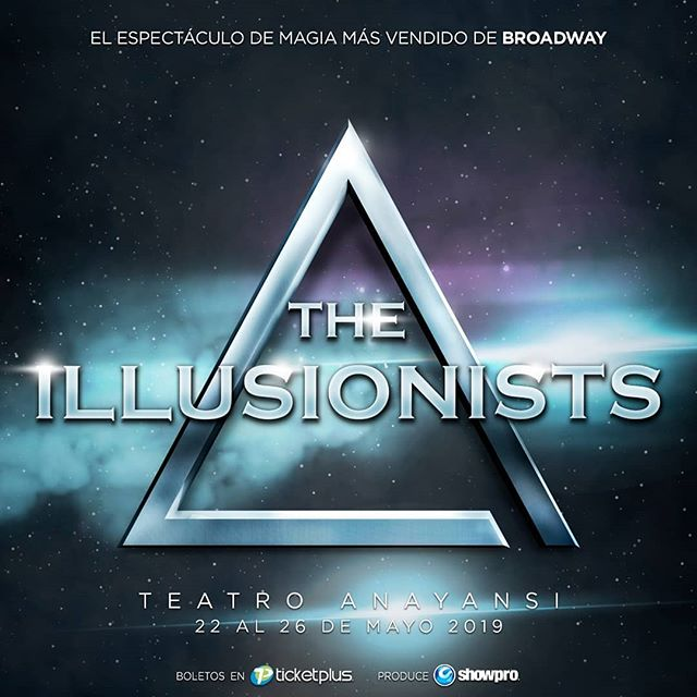 Photo of «The Illusionists» en Panamá