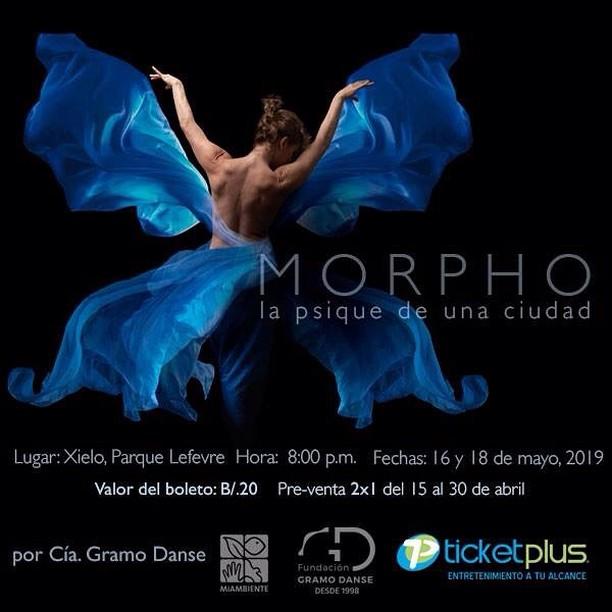 Photo of Fundación Gramo Danse presenta «Morpho – La psique de una ciudad»