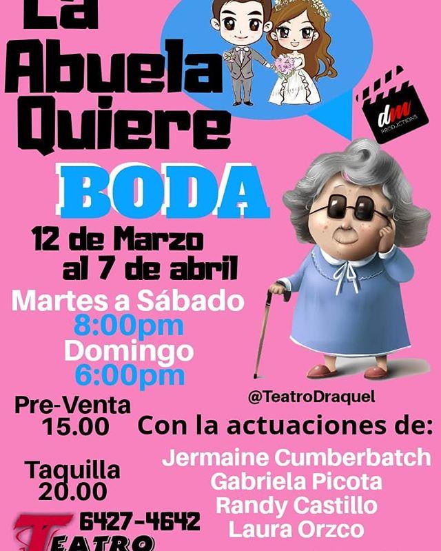 Photo of Últimas funciones de la obra 'La Abuela quiere Boda' en Teatro D' Raquel