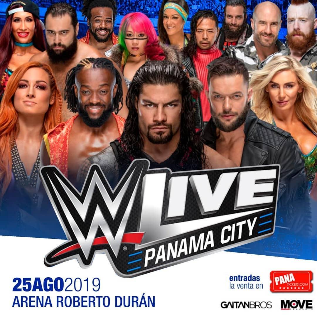 Photo of WWE Live Panamá City 2019
