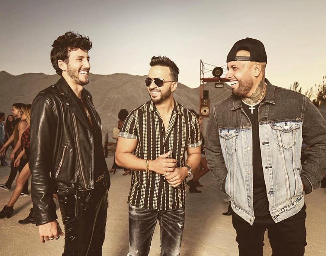 Photo of Nicky Jam, Luis Fonsi y Sebastián Yatra en «Date la vuelta»