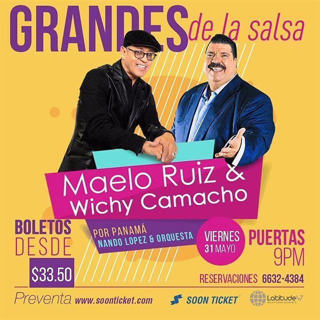 Photo of Concierto de Maelo Ruiz y Wichy Camacho en Panamá