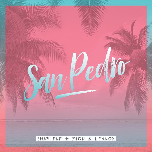 """Photo of Sharlene y Zion & Lennox juntos con el tema """"San Pedro"""""""