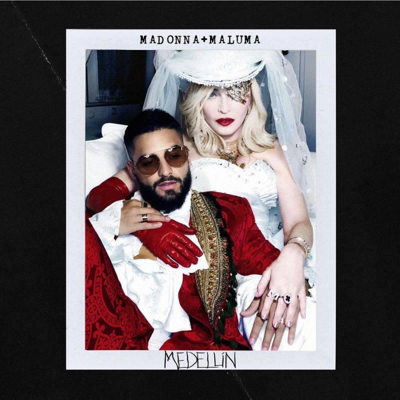 Photo of «Medellín» de Madonna junto al colombiano Maluma N° 1 en Youtube