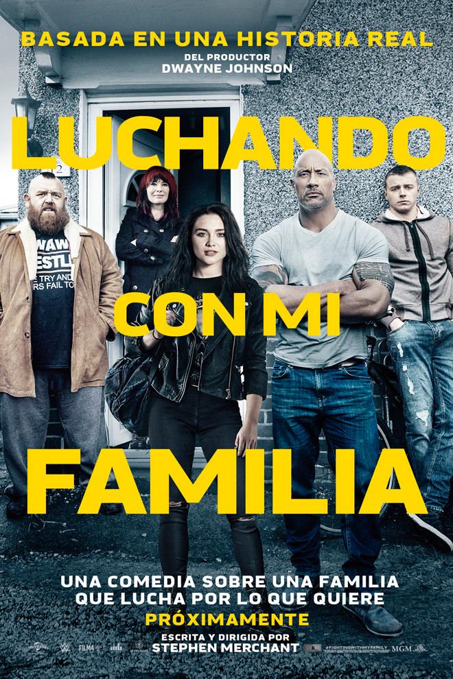 Photo of «Luchando con la Familia» solo en cines