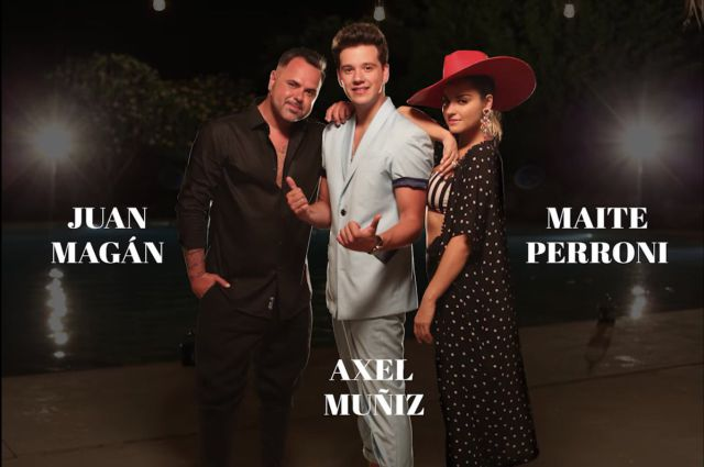 Photo of Maite Perroni, Axel Muñix y Juan Magán presentan su tema 'Sin Ti'